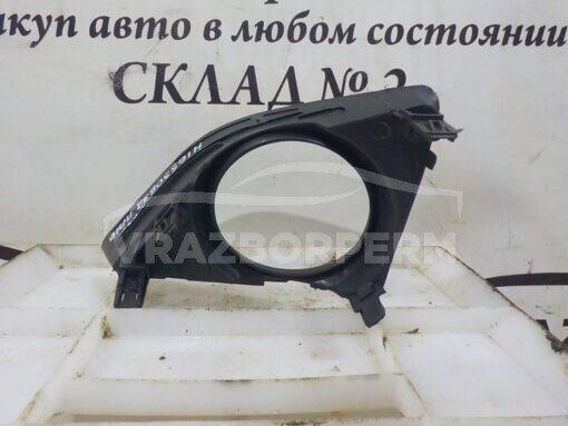 Решетка бампера переднего правая (под ПТФ) Toyota Corolla E15 2006-2013  8148112090