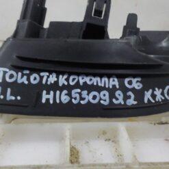 Решетка бампера переднего левая (под ПТФ) Toyota Corolla E15 2006-2013 8148212070 2