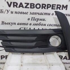 Решетка бампера переднего левая (под ПТФ) Toyota Corolla E18 2013>  8148202620