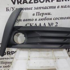 Решетка бампера переднего правая (под ПТФ) Toyota Corolla E18 2013>  8148102630
