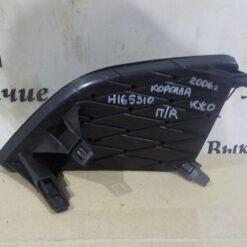 Решетка бампера переднего правая (без ПТФ) Toyota Corolla E15 2006-2013 8148112080 1