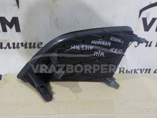 Решетка бампера переднего правая (без ПТФ) Toyota Corolla E15 2006-2013  8148112080