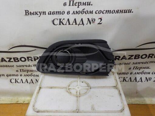 Решетка бампера переднего правая (без ПТФ) Renault Logan II 2014>  263311420R