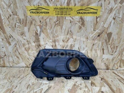 Решетка бампера переднего правая (под ПТФ) Renault Logan II 2014>  263316043R