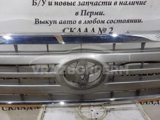 Решетка радиатора перед. центр. Toyota Land Cruiser (100) 1998-2007   5310160270, 5310160300