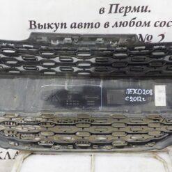Решетка радиатора перед. центр. Peugeot 208 2012> 9672794377? 9676232977 9803271980 5