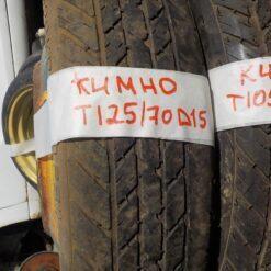 Диск запасного колеса (докатка) Chevrolet Lacetti 2003-2013  96495245 1257015 6