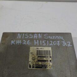 Блок управления двигателем (ЭБУ/мозги) Nissan Sunny N14 1990-1995  2371073C03 7