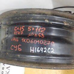 Диски Штампованные r15 радиус   1K0601027C 3