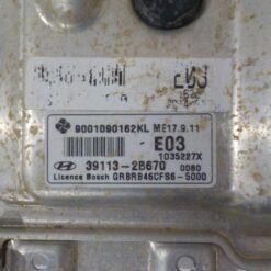 Блок управления двигателем (ЭБУ/мозги) Hyundai Solaris 2010-2017  391132B670 1