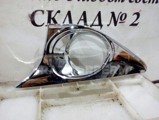 Решетка бампера переднего левая (под ПТФ) Toyota Camry V50 2011>  5212833150, 5212833151, 5212833152