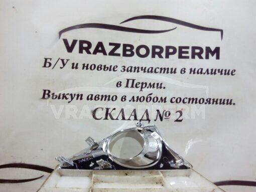 Решетка бампера переднего левая (под ПТФ) Toyota Camry V50 2011>  5212733150, 5212733151, 5212733152