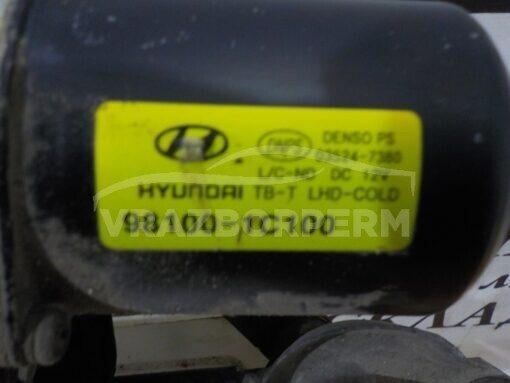 Трапеция стеклоочистителей перед перед. Hyundai Getz 2002-2010  981001С100, 981201C001