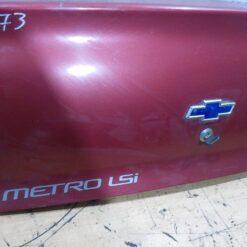 Крышка багажника Chevrolet Metro (MR226) 1998-2001  91171438 5