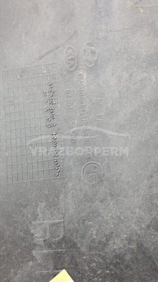 Накладка крыла (расширитель) задн. прав. Kia Sorento 2002-2009  877913E500
