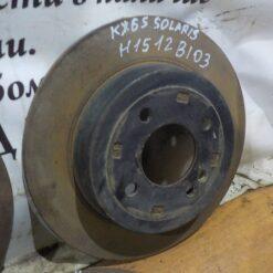 Диск тормозной задний Kia RIO 2011-2017 584110U300, S584110U300 1