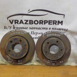 Диск тормозной задний Mazda Mazda 3 (BK) 2002-2009  C24Y26251C9A, BP4Y26251D