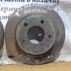 Диск тормозной задний Mazda Mazda 3 (BK) 2002-2009 C24Y26251C9A, BP4Y26251D 2