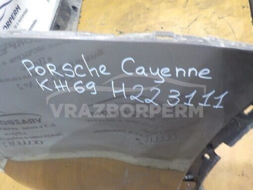 Бампер задний Porsche Cayenne 2010-2017  7P5807421