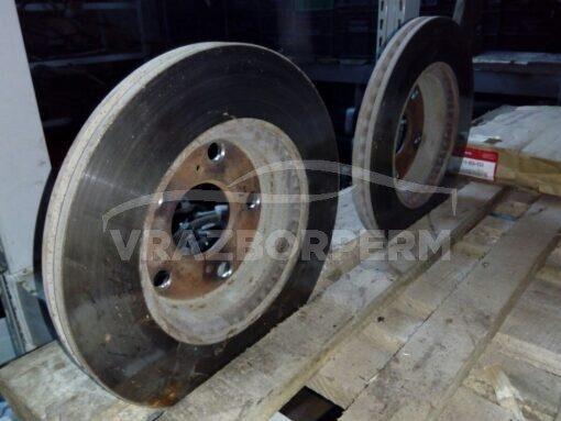 Диск тормозной передний вентилируемый Toyota Corolla E15 2006-2013  4351212670