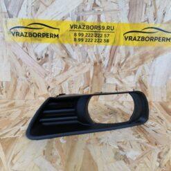 Решетка бампера переднего левая (под ПТФ) Toyota Camry V40 2006-2011  5212833050
