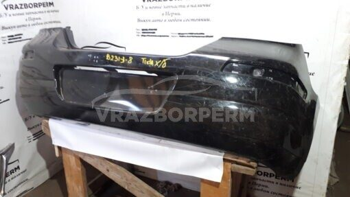 Бампер задний Nissan Tiida (C11) 2007-2014  85022EM00H