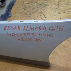 Бампер задний Nissan Almera (G15) 2013>  850224AA0H 8