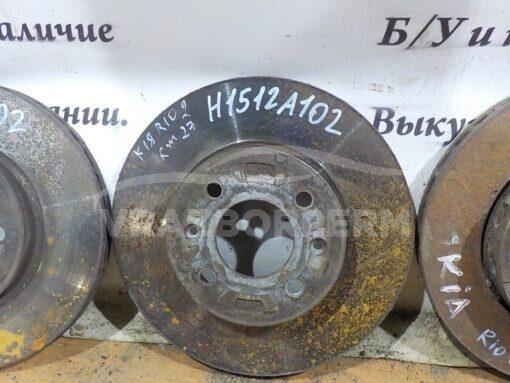 Диск тормозной передний Kia RIO 2005-2011  517121G000