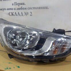 Фара правая Hyundai Solaris 2010-2017  921024L000