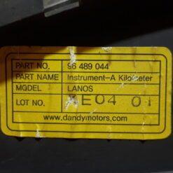 Щиток приборов Chevrolet Lanos 2004-2010 96489044 3