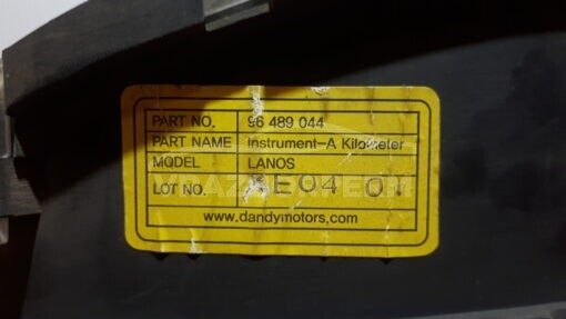 Щиток приборов Chevrolet Lanos 2004-2010  96489044