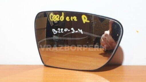 Зеркальный элемент прав. перед. Kia Ceed 2012>  87621A2020