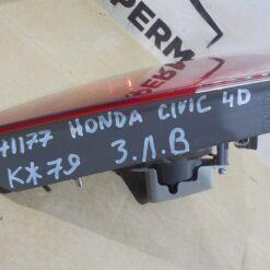 Фонарь задний левый внутренний (в крышку) Honda Civic 4D 2006-2012  34156SNBG02 3