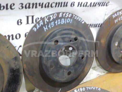 Диск тормозной задний Toyota Corolla E15 2006-2013  4243112260, 4243102180, 4243102170, 4243112280