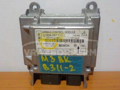 Блок управления AIR BAG Mazda Mazda 3 (BK) 2002-2009  0285001961, BS4H57K30C