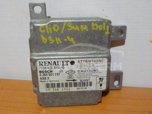 Блок управления AIR BAG Renault Clio II/Symbol 1998-2008  0285001157