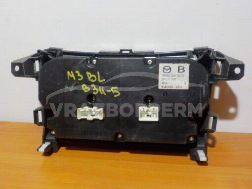 Блок управления климатической установкой Mazda Mazda 3 (BL) 2009-2013  bbp361190k