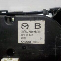 Блок управления климатической установкой Mazda Mazda 3 (BL) 2009-2013  bbp361190k 2