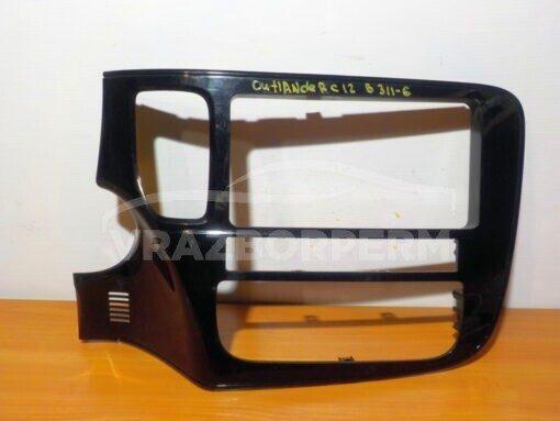 Рамка магнитолы Mitsubishi Outlander (GF) 2012>  8002B517
