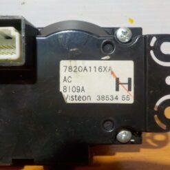 Блок управления климатической установкой Mitsubishi ASX 2010>  7820a116xa 2