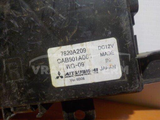 Блок управления климатической установкой Mitsubishi Lancer (CX,CY) 2007>  7820a209