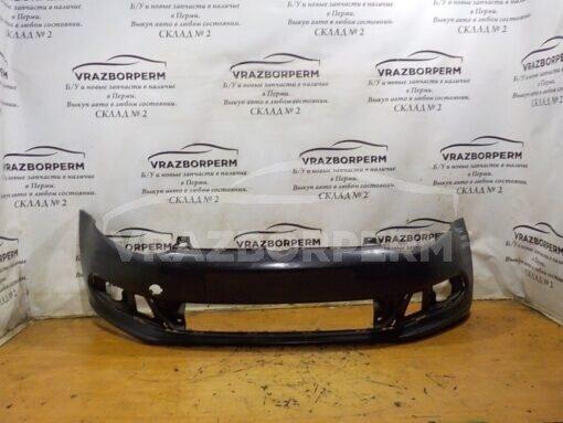 Бампер передний Volkswagen Polo (Sed RUS) 2011>  6RU807221GRU, 6RU807221