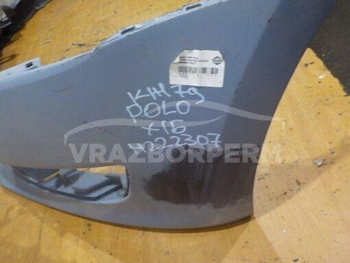 Бампер передний Volkswagen Polo (HB) 2009>  6R0807221RGRU, 6R0807221R
