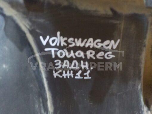 Спойлер бампера (юбка) задн. Volkswagen Touareg 2010-2018  7P6807568B, 7P6807568B9B9, 7P6807568H9B9