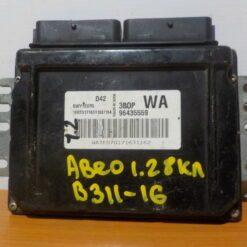 Блок управления двигателем Chevrolet Aveo (T250) 2005-2011  96435559
