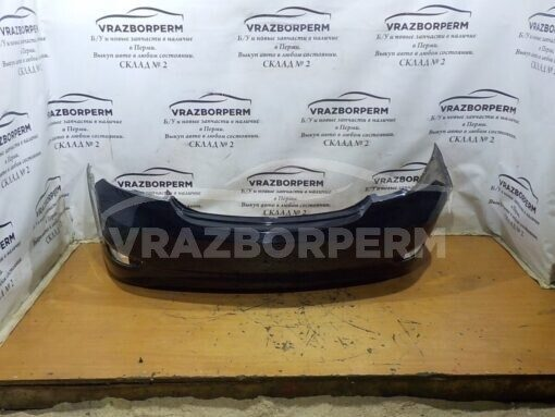 Бампер задний Hyundai Solaris 2010-2017  866114L000