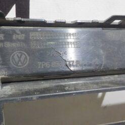 Решетка бампера переднего центр. Volkswagen Touareg 2010-2018  7P6853677B9B9 2