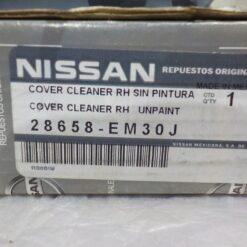 Крышка форсунки омывателя фары правой Nissan Tiida (C11) 2007-2014  28658EM30A, 28658EM30J 2