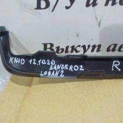 Накладка фары правой (ресничка) Renault Logan II 2014>  260444577R, 260E01288R 1
