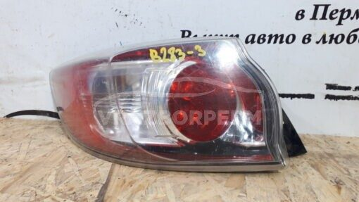 Фонарь задний левый наружный (в крыло) Mazda Mazda 3 (BL) 2009-2013   BCW951160D